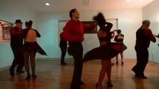 [HD] Alma Montuno Latin Dance Performance 2 - Red