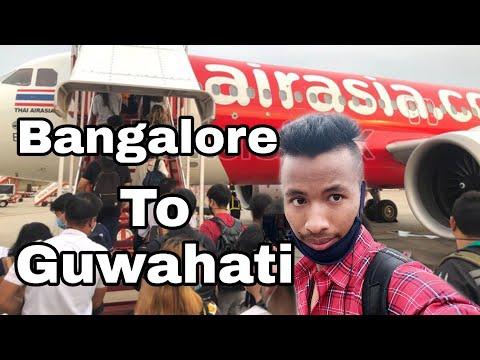 Bangalore to Guwahati 2020 || কেনেকৈ যাব Flight ✈️ || AirAsia.