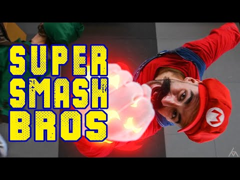 SUPER SMASH BROS - Stunt Tribute!