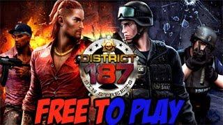Gameplay District 187 Sin Streets - Primeiras Impressões e Conhecendo o Jogo HD
