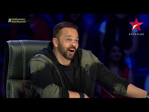 India' Next Superstars | Rohit Shetty Imitates Pranati