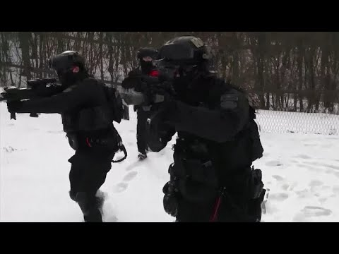 Security drills held ahead of Winter Olympics