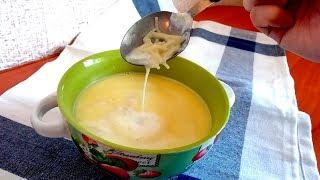 Молочный суп. Детские рецепты.