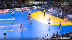 Handball WM 2017 Deutschland-Ungarn Schlussphase