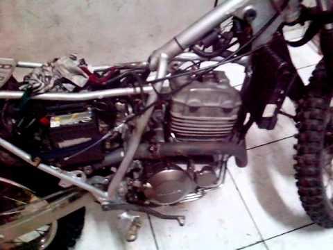 Xr200 De Trilha Com Motor De Tornado Youtube