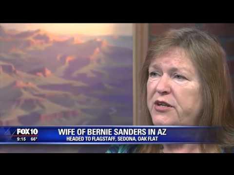 Jane Sanders talks Trump, jobs and socialism