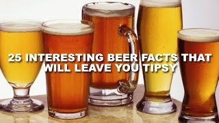 25 Interesting Beer Facts That Will Leave You Tipsy