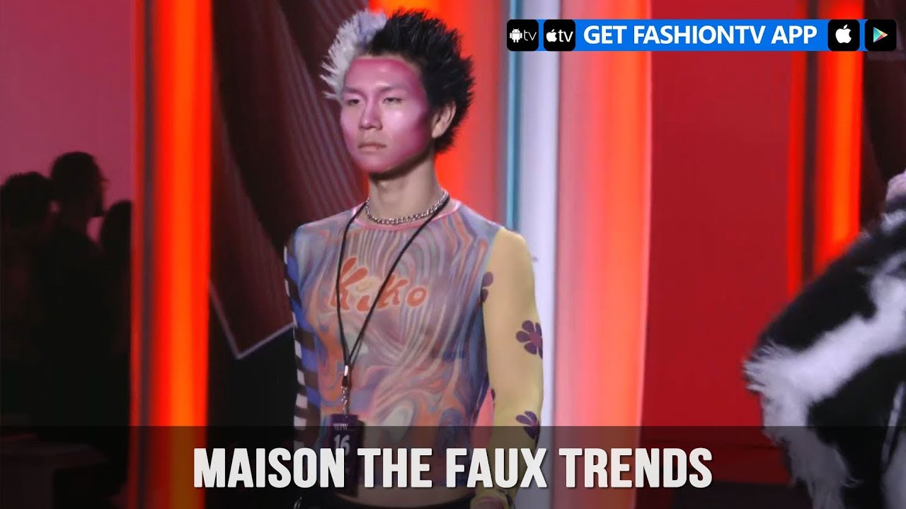 New York Fashion Week Spring/Summer 2018   Maison The Faux Trends |  FashionTV