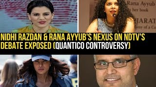Nidhi Razdan & Rana Ayyub trolled by RSS Raghav Awasthi on Atul Kochar's tweet about Priyanka Chopra
