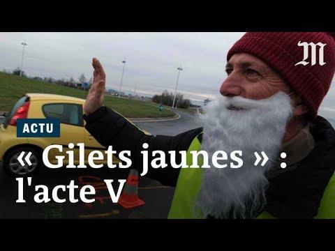 « Gilets jaunes » : les images de « l'acte V »