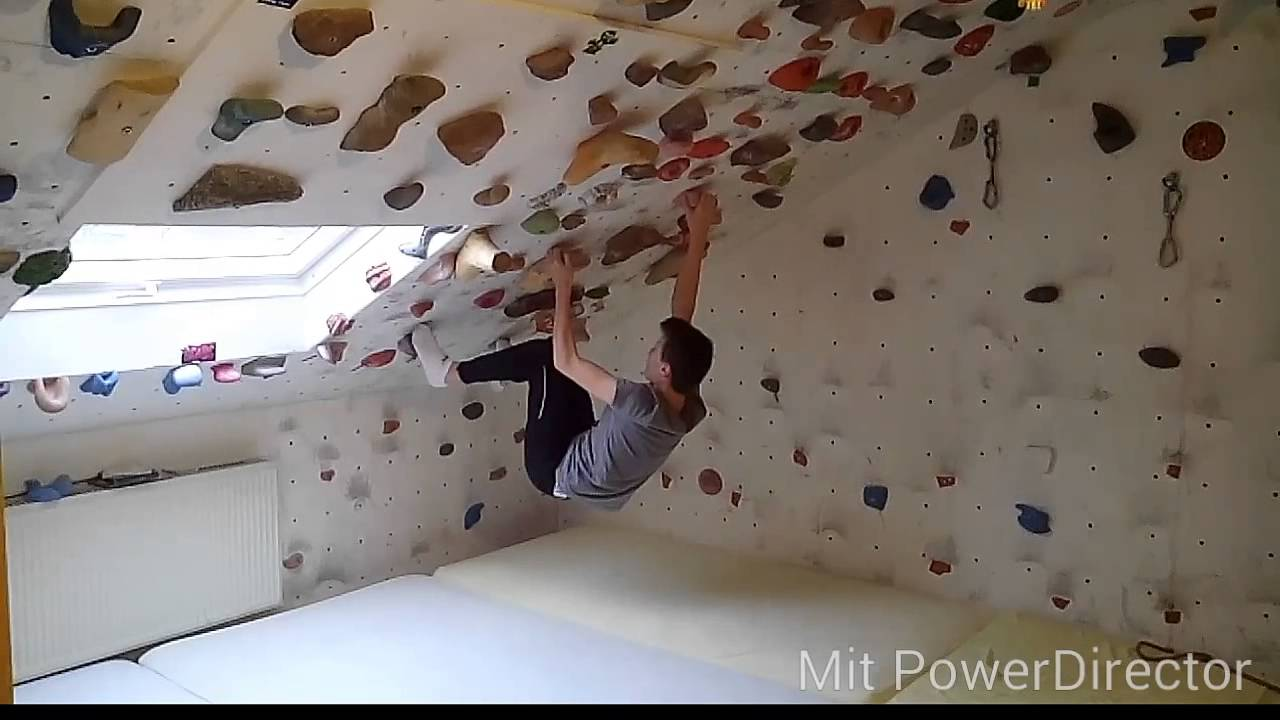 zuhause bouldern - youtube