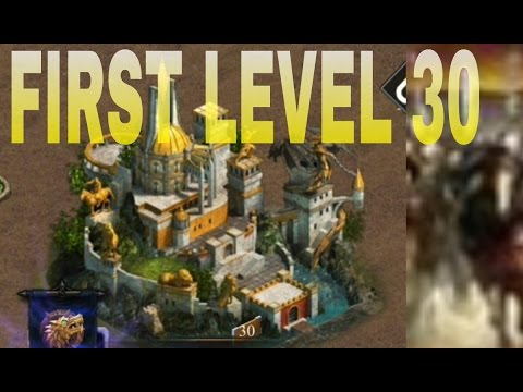 CLASH OF KINGS FIRST LEVEL 30 CASTLE ON YOUTUBE