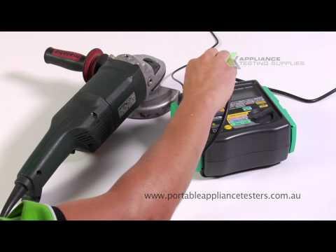 Kyoritsu 6201a Portable Appliance Tester
