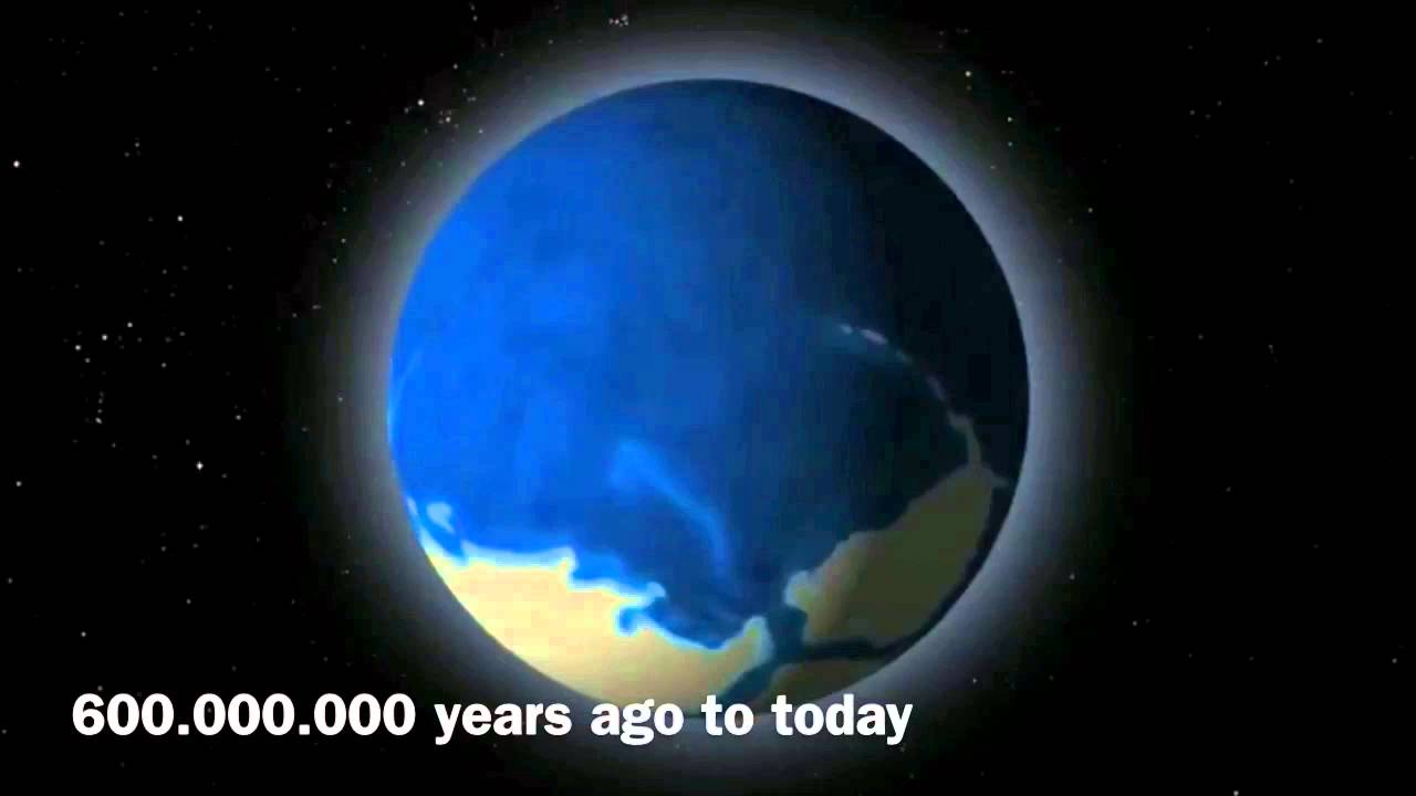 Earth 4 5 Billion Years To Today