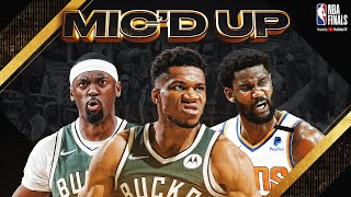 The Best Sounds & Mic'd Up Moments from Game 3 of the 2021 NBA Finals! 🎤