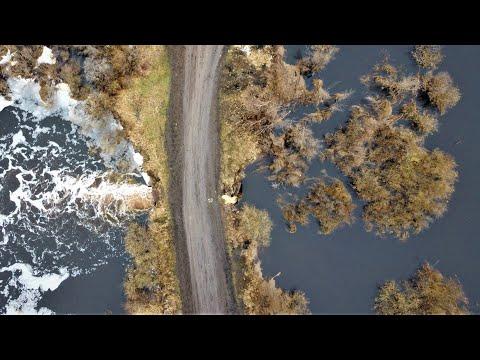 Разлив реки Вихоревка