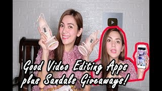 BEST VIDEO EDITOR APPS+MAMIMIGAY AKO NG SHOES! (Top 10 BEST Apps)