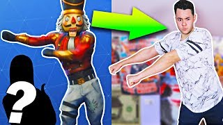 FORTNITE BAILES IN REAL LIFE (with SPECIAL INVITE!)