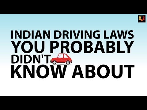 Driving Laws In India