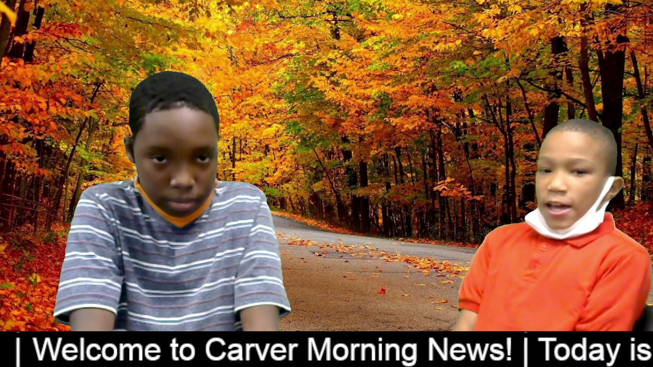 Carver Morning News - Tuesday - October 19, 2021
