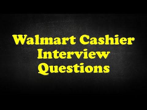 Walmart Cashier Interview Questions Youtube