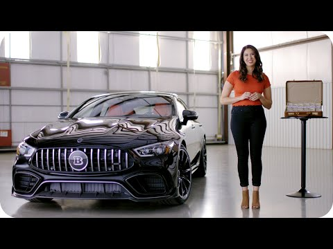 Win A BRABUS Mercedes-AMG GT 63 S And $20,000 // Omaze