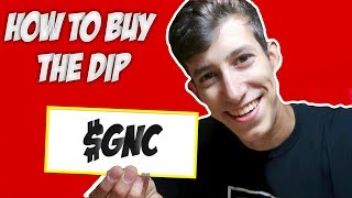 Buying The Dip On $GNC & $GPRO | How To Buy The Dip