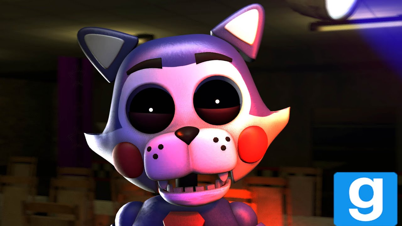 GMOD FNAC Five Nights at Cand'ys Candy Playermodel Showcase by Gold Bear  Animations