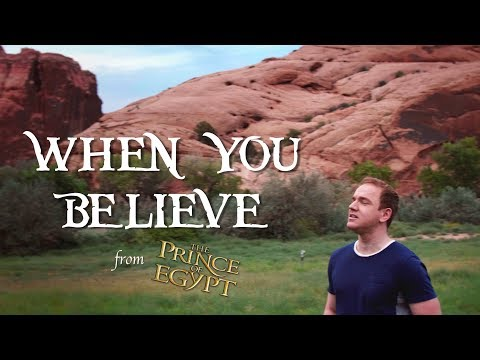 WHEN YOU BELIEVE - 'The Prince of Egypt' (cover) | Jonathan Estabrooks