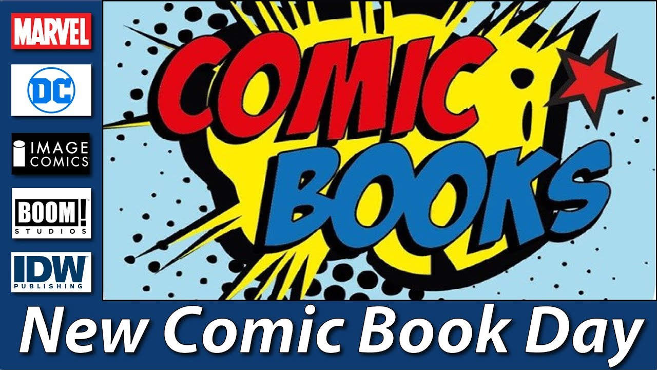 """Résultat de recherche d'images pour """"new comic book day"""""""