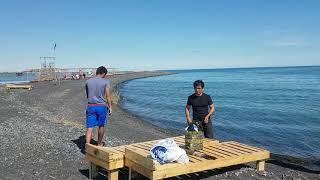 Русский в шоке от Казахского гостеприимства Алаколь-Алмаатинская область