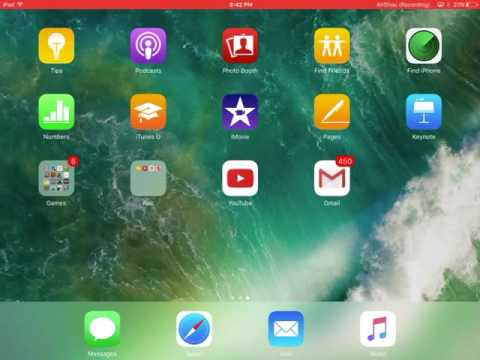 How to record your iPad screen no jailbreak or computer needed for free | iOS 9+ | 2016-2017