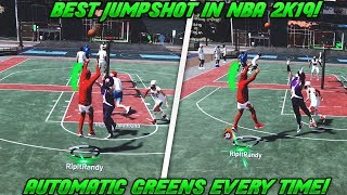BEST JUMPSHOT IN NBA 2K19 FOR ALL ARCHETYPES! NEVER MISS AGAIN! 100% GREEN LIGHTS AFTER PATCH
