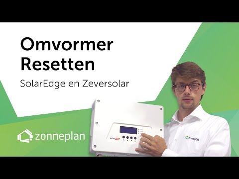 Zonnepanelen omvormer resetten (zelfhulp) - YouTube