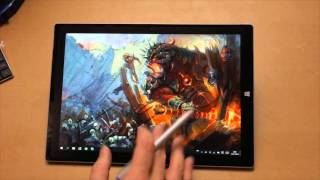 Обзор Surface 3 Pro, чем он хорош и чем плох в рисовании. http://gu...