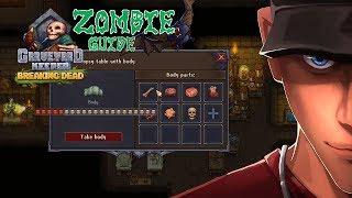 Graveyard Keeper How to get the best zombie efficiency 40% - Efficiency Guide