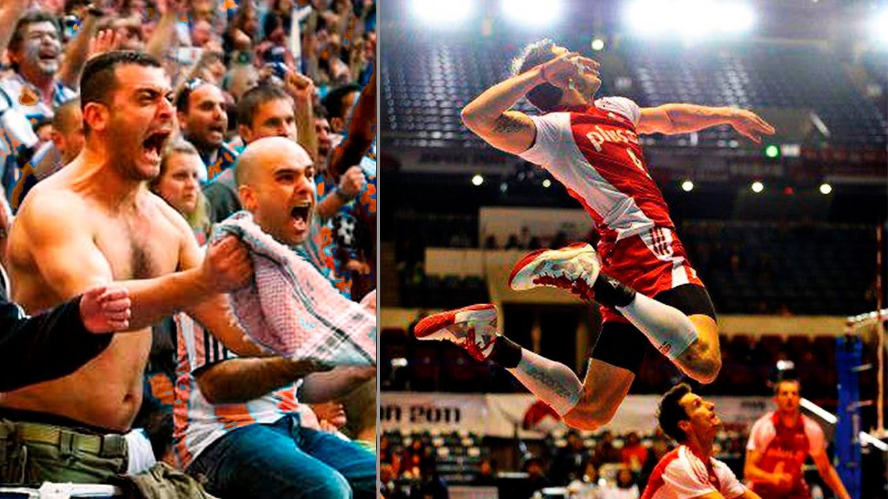 TOP 10 The Most Powerful Volleyball Spikes