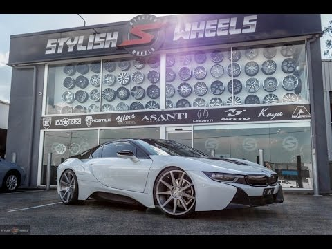 Bmw I8 Rolling On 22 Zenetti Esquire L Stylish Wheels Youtube