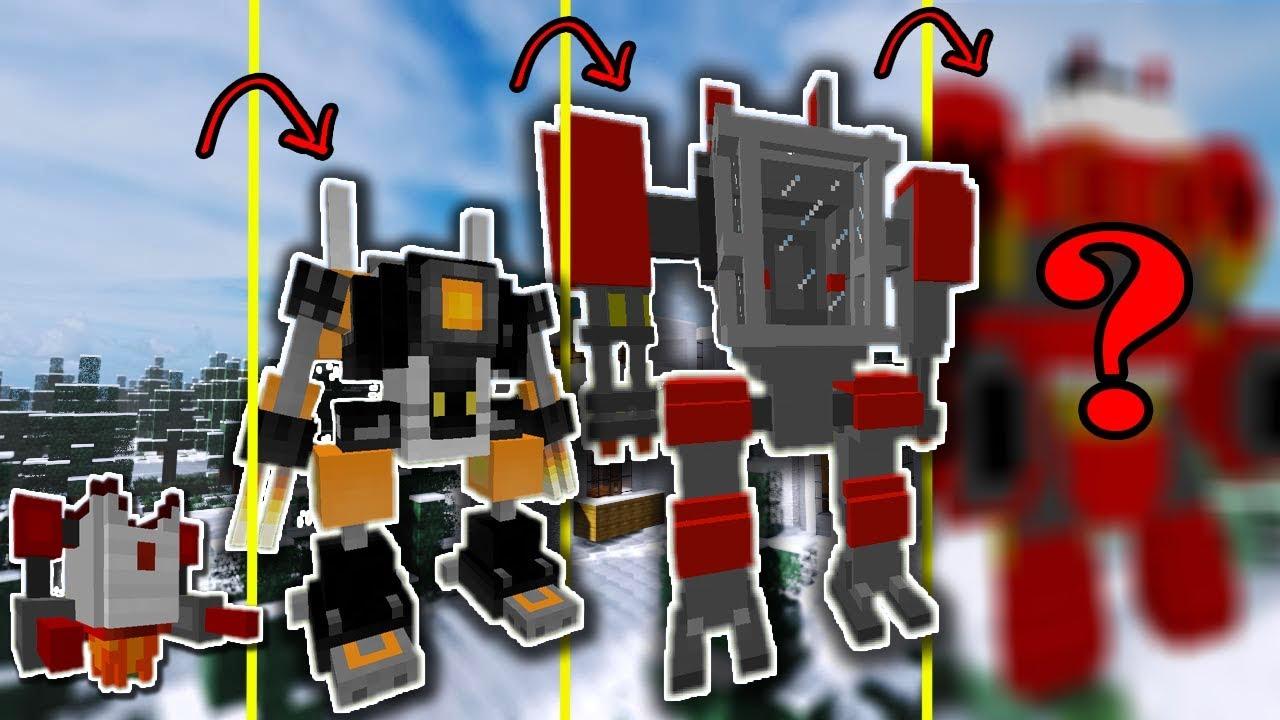 NẾU SLENDERMAN SỞ HỮU ROBOT HỦY DIỆT MẠNH NHẤT TRONG MCPE   Cuộc Sống Minecraft PE