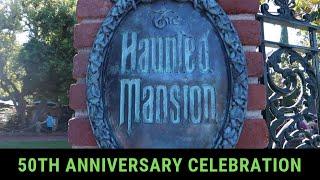 Haunted Mansion 50th Anniversary Celebration at Disneyland