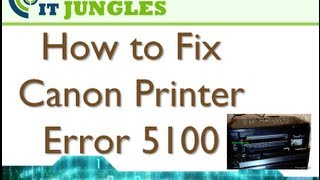 How Fix Canon Printer Error