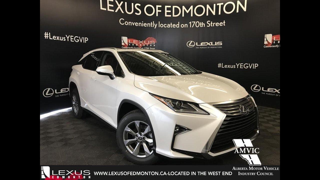4513363417d7 White 2018 Lexus RX 350 Navigation Package Review East Edmonton Alberta