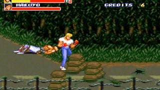 Streets of Rage 2 (Arcade version) playthrough
