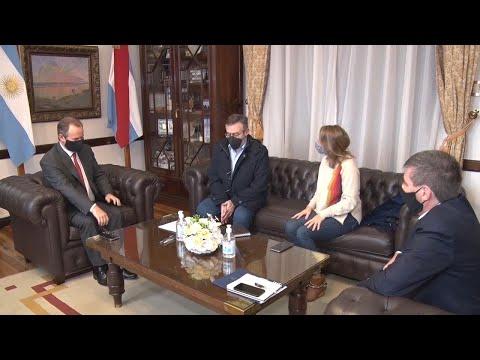 Ballay ratificó lo informado por Larrarte: 300 millones para los municipios