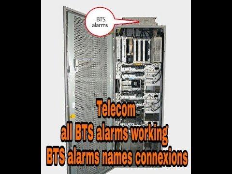 Telecom tower BTS alarms working telugu