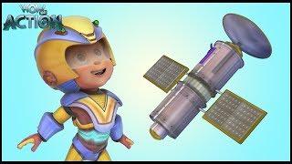 Hindi Cartoons for kids   Vir: The Robot Boy   Satellite Launch   WowKidz Action