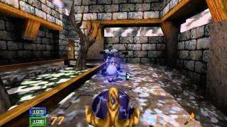 Hexen II. Portals of Praevus (as Crusader, Legend Difficulty). Blackmarsh 1/2