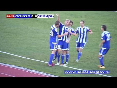 Виталий Галыш открывает счет красивым обводящим ударом, 1-0