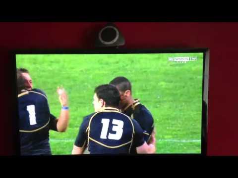 Australia 6 Scotland 9 05/06/12 rugby union
