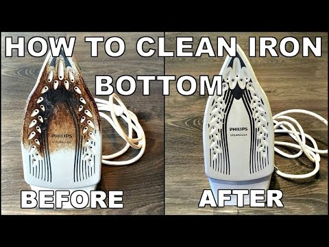How To Clean Iron Bottom   EASY